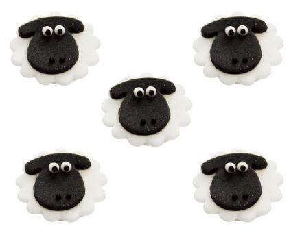 Sheep Sugar Decorations